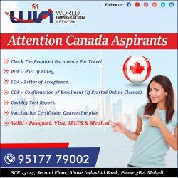 Attention Canada Aspirants
