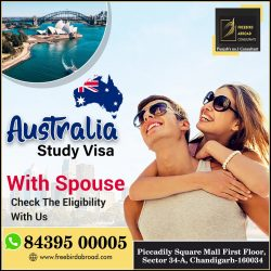 Australia Study Visa With 5.5