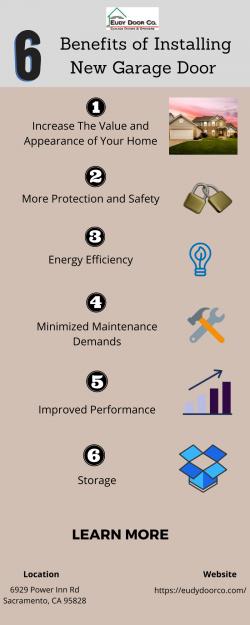 6 Benefits of Installing New Garage Door