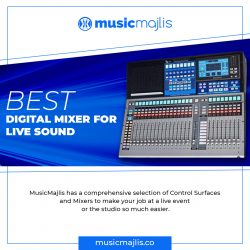 Best digital mixer for live sound – MusicMajlis
