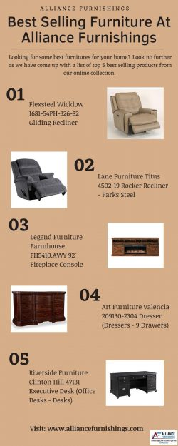 Best Selling Furniture At Alliance Furnishings