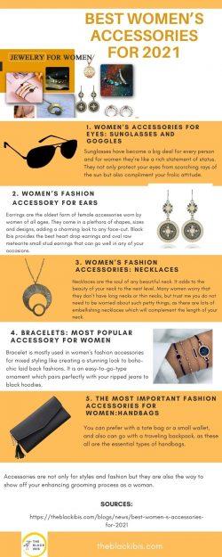 BEST WOMEN'S ACCESSORIES FOR 2021