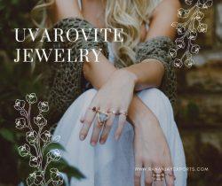 Buy Nutural Uvarovite Stone Jewelry