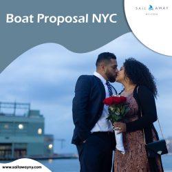 Boat Proposal NYC