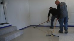 Enhanced strength, durability, impact-resistant concrete coating from Zone Garage