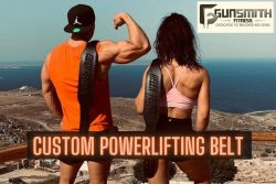 Get Personalised Leather Belt | Gunsmith Fitness