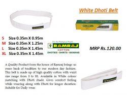 Buy Dhoti Belts Online in Tirupati   Ramraj Cotton