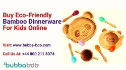 Buy Eco-Friendly Bamboo Dinnerware For Kids Online