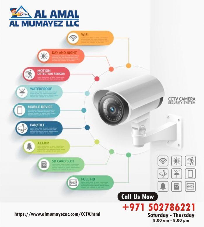 Security Camera Installation in Sharjah