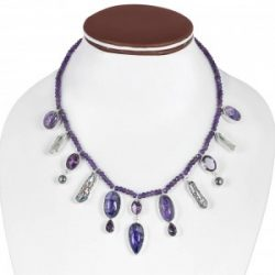 Buy Sterling Silver Charoite Jewelry | Rananjay Exports