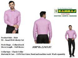Buy Coloring Linen Shirt Online in Sellur, Madurai