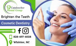 Create a Brighten Teeth by Cosmetic Dentistry
