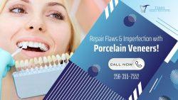 Create an Aesthetic Smile with Porcelain Veneers