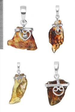 Wholesale Genuine Amber Stone Jewelry