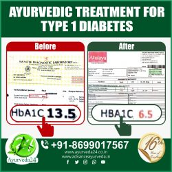 One More Success Story with One of Our Diabetes type-1 Patients. Many More to Come.