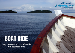 Discover Hidden Beaches with Adventure Watersports