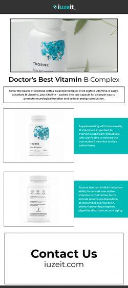 Doctor's best vitamin b complex – iuzeit