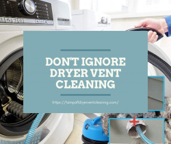 Don't ignore dryer vent cleaning