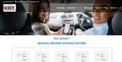 booking driving lesson oxford