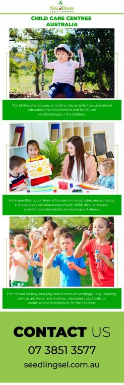 Early Childhood Education – Seedlings Early Learning