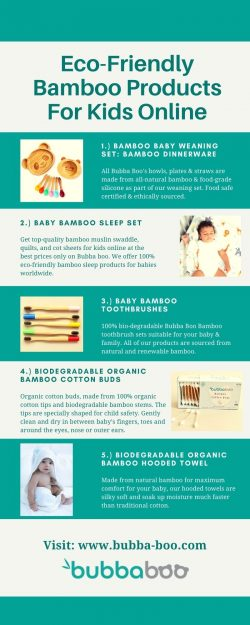 Eco-Friendly Bamboo Products For Kids Online