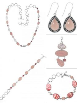 Shop Natural Rose Quartz Jewelry