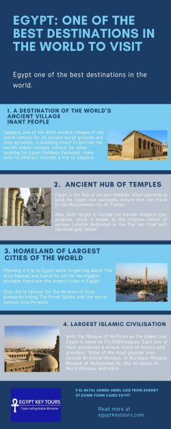 EGYPT: ONE OF THE BEST DESTINATIONS IN THE WORLD TO VISIT