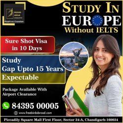 Without IELTS Europe Study Visa – Ukraine