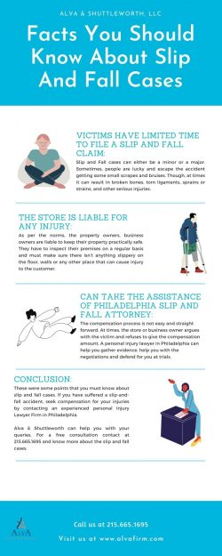 Facts you should know about Slip and Fall Cases