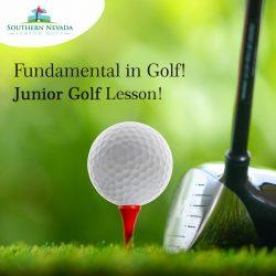 Fundamental in Golf! Junior Golf Lesson!