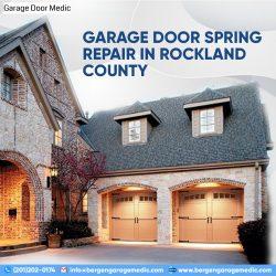 Garage Door Spring Repair in Rockland County NY