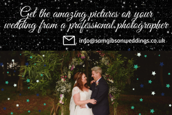 Get the amazing pictures on your wedding from a professional photographer