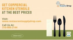 Get Commercial Kitchen Utensils At Best Price