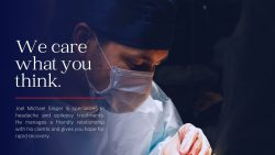 Joel Michael Singer specializes in the diagnosis and surgical treatment