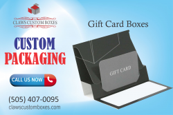 Gift Card Boxes   Custom Packaging Boxes  Claws Custom Boxes