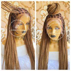 Glueless braided wigs