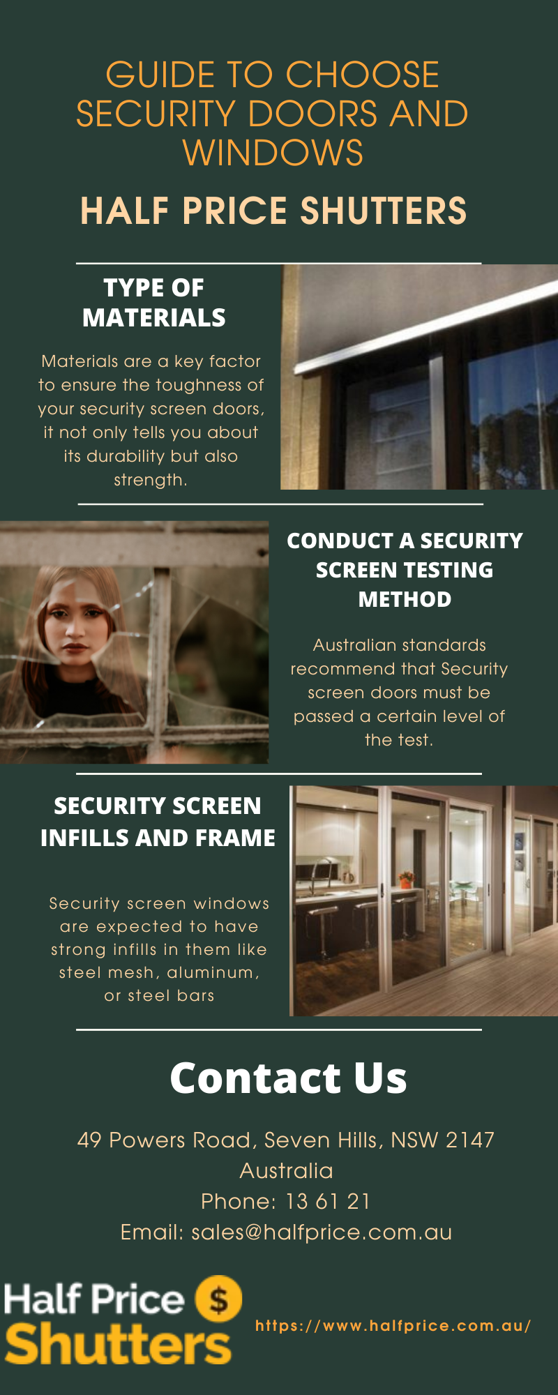 GUIDE TO CHOOSE SECURITY DOORS AND WINDOWS