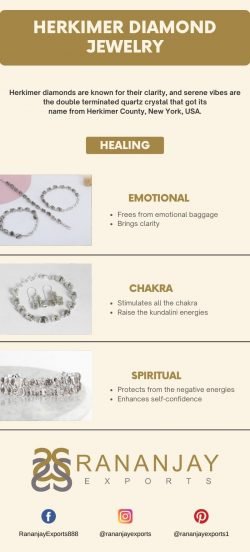 Wholesale Herkimer Diamond Jewelry
