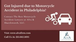 Hire The Best Motorcycle Accident Attorney in Philadelphia