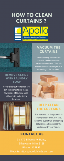 How to Clean Curtains?