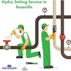 Hydro Jetting Service in Roseville