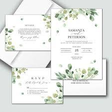 Affordable unique elegant wedding invitations