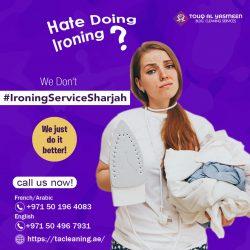 Ironing Service Sharjah | Ironing Service Company UAE