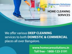 Want to clean your home in deep? Searching for professional cleaning services?