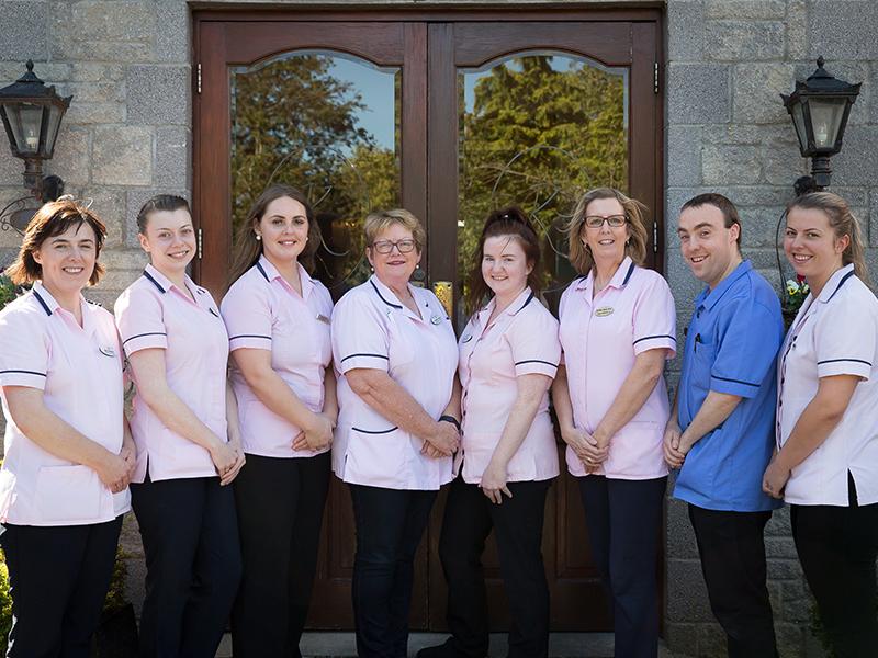 Killeline Nursing Home provides 24/7 hour services