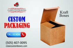 Customized kraft boxes get with high quality