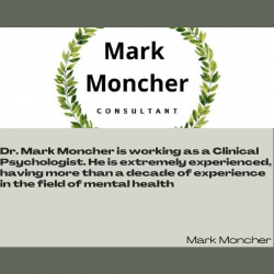 Mark Moncher Is A Quick Cure For PSYCHOLOGIST