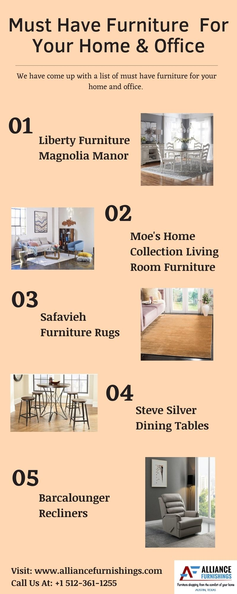 Must Have Furniture For Your Home & Office