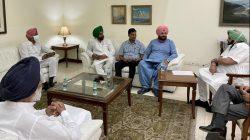 Navjot Sidhu holds first meeting with Punjab CM