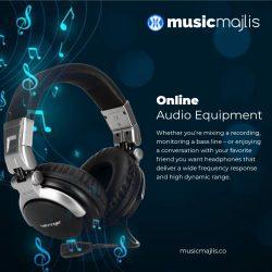 Buy Online Audio Equipment in Dubai – MusicMajlis